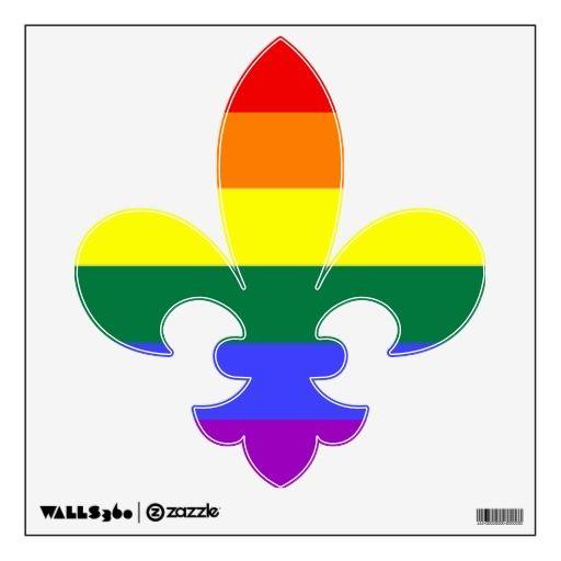 Lesbian symbol fleur de lis