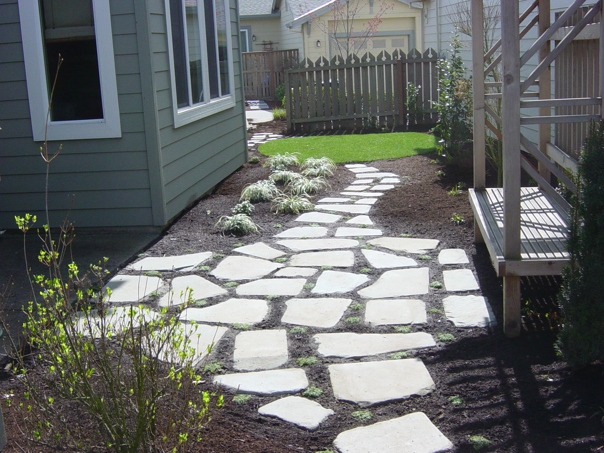 Stepping Stone Patio.