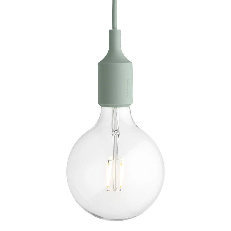 Muuto E27 Led Pendant Light Green In 2020 Led Pendant Lights Lighting Ceiling Lamp E27 Lights