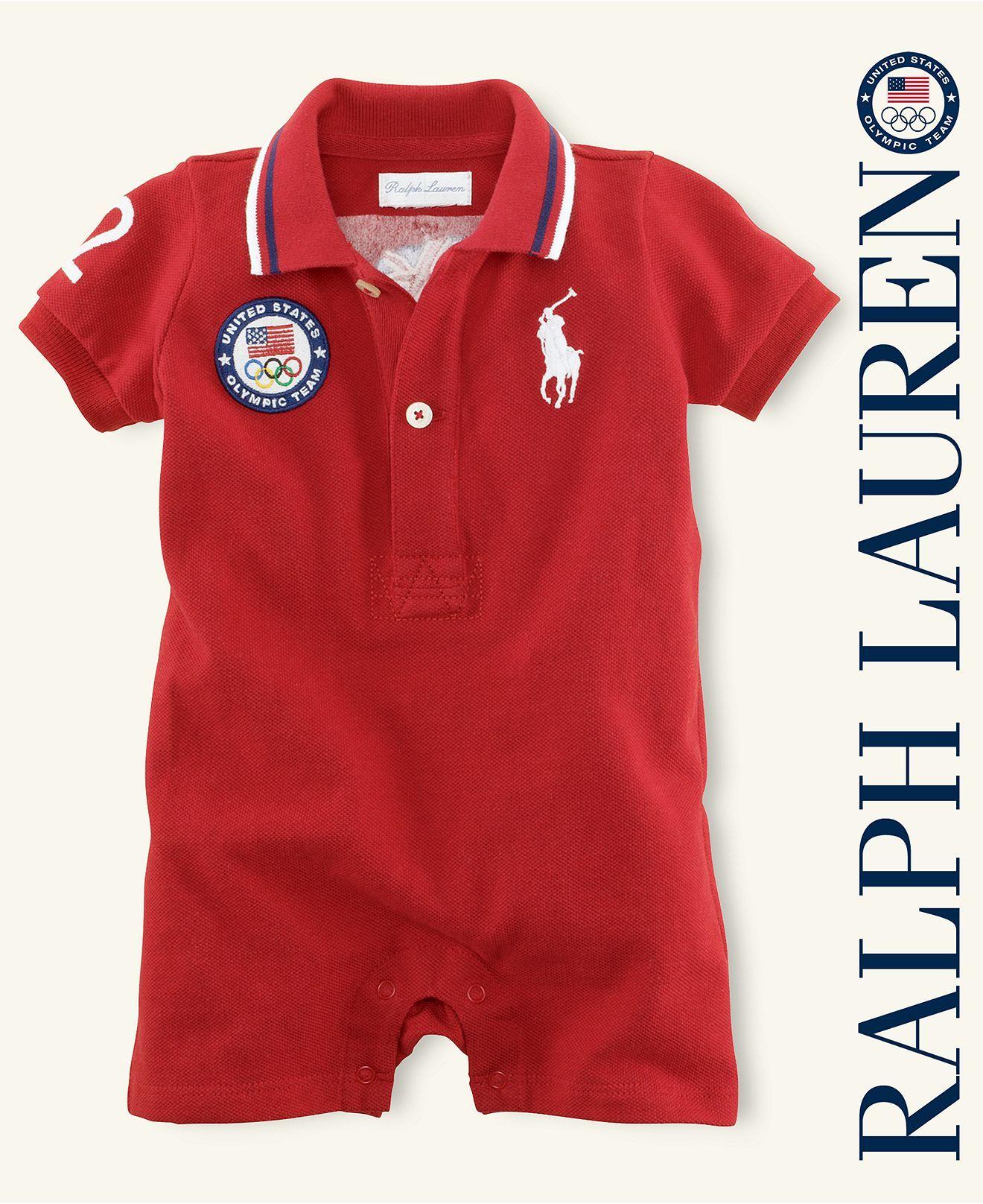 Ralph Lauren Baby Shortall Baby Boys Team Usa Olympic
