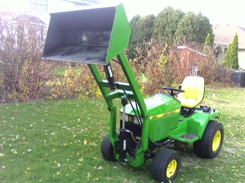 Loader for John Deere 425 445 455 eBay Farm Pinterest John