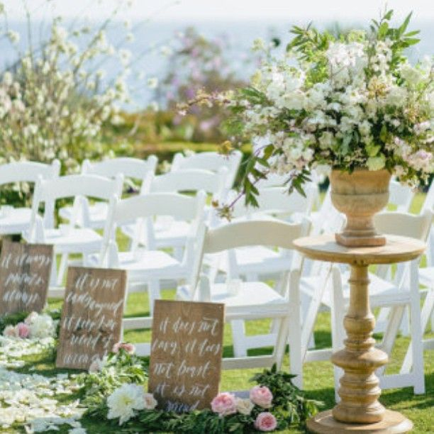 Christian Wedding Reception Ideas: Love Is... Verse To Read As You Walk Down The Aisle