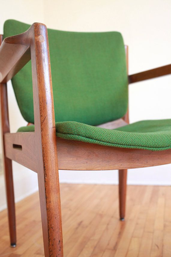 Green Mid Century Occasional Chair By Thonet By TheHonestRabbit