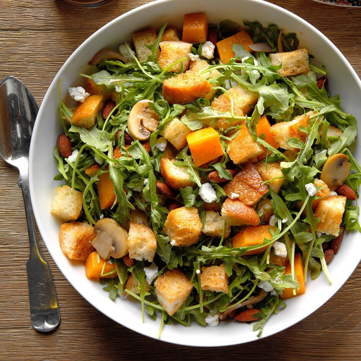 Butternut Squash Panzanella Salad Recipe With Images