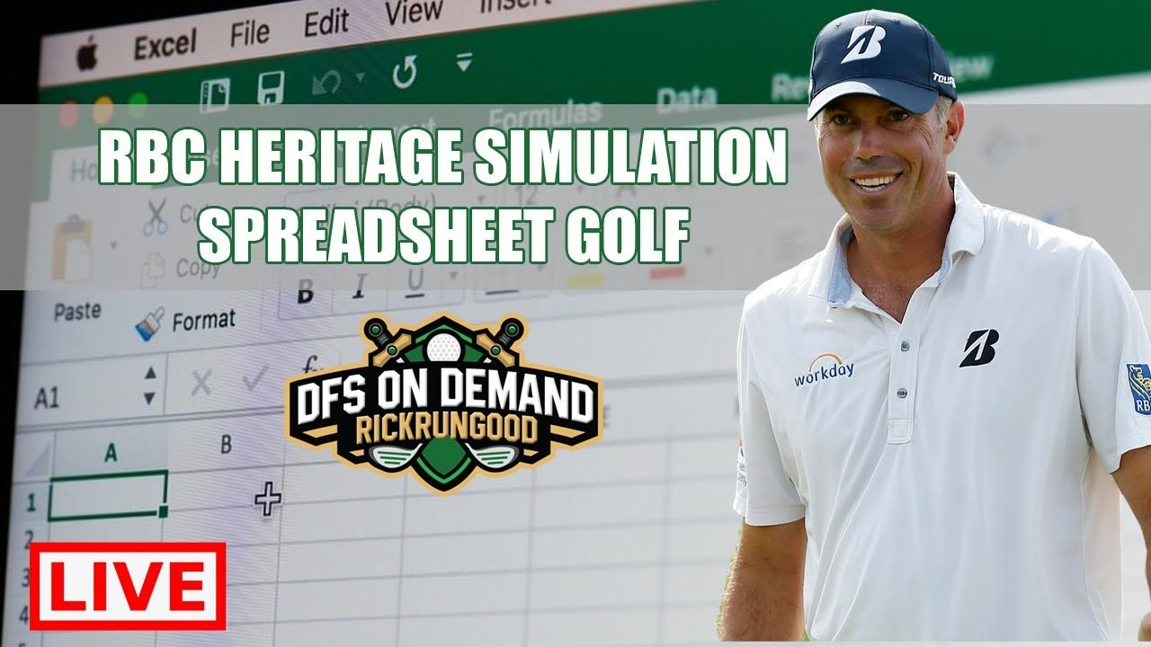RBC Heritage Simulation (Live) All (4) Rounds in 2020