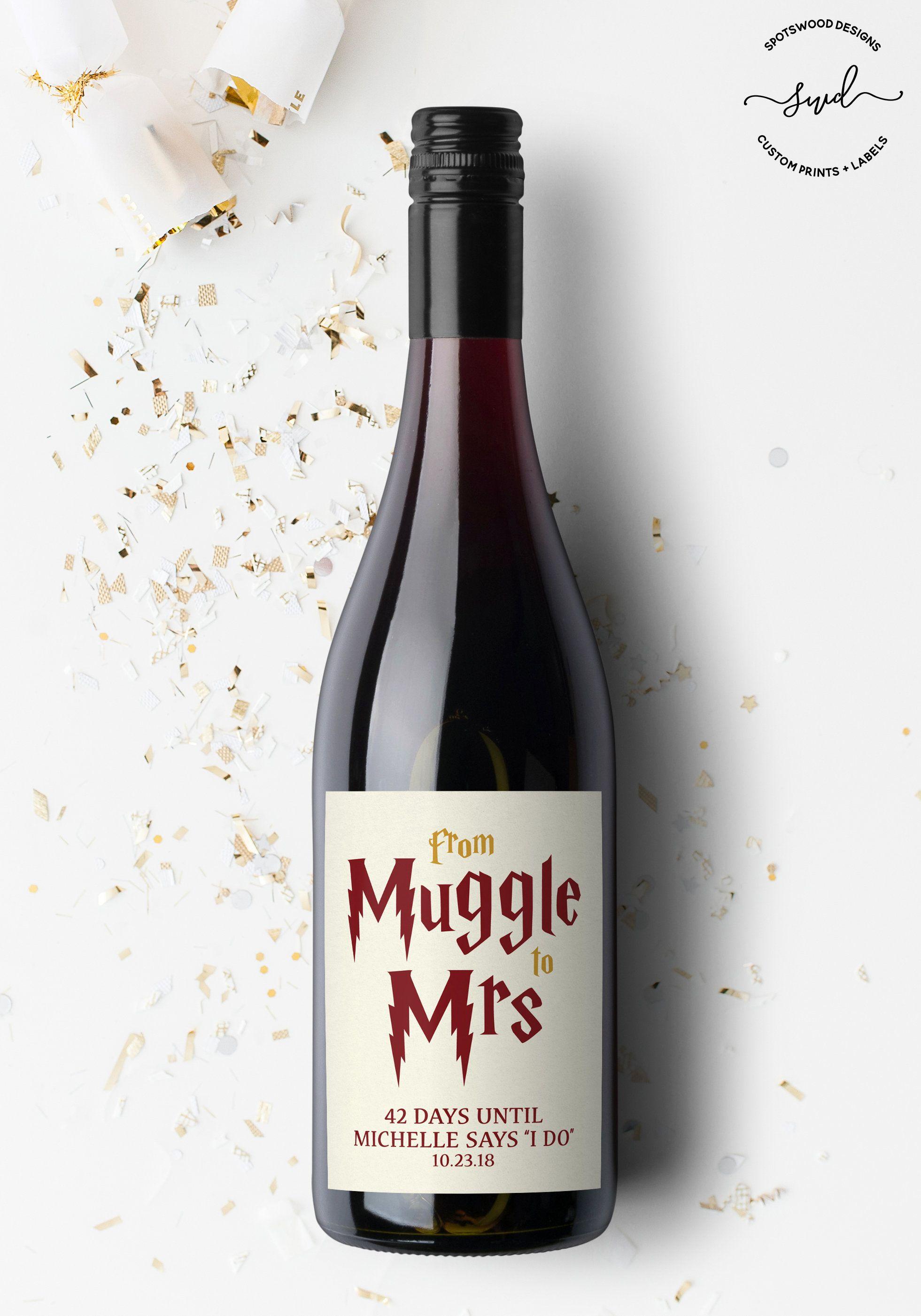 Harry Potter Wine Labels