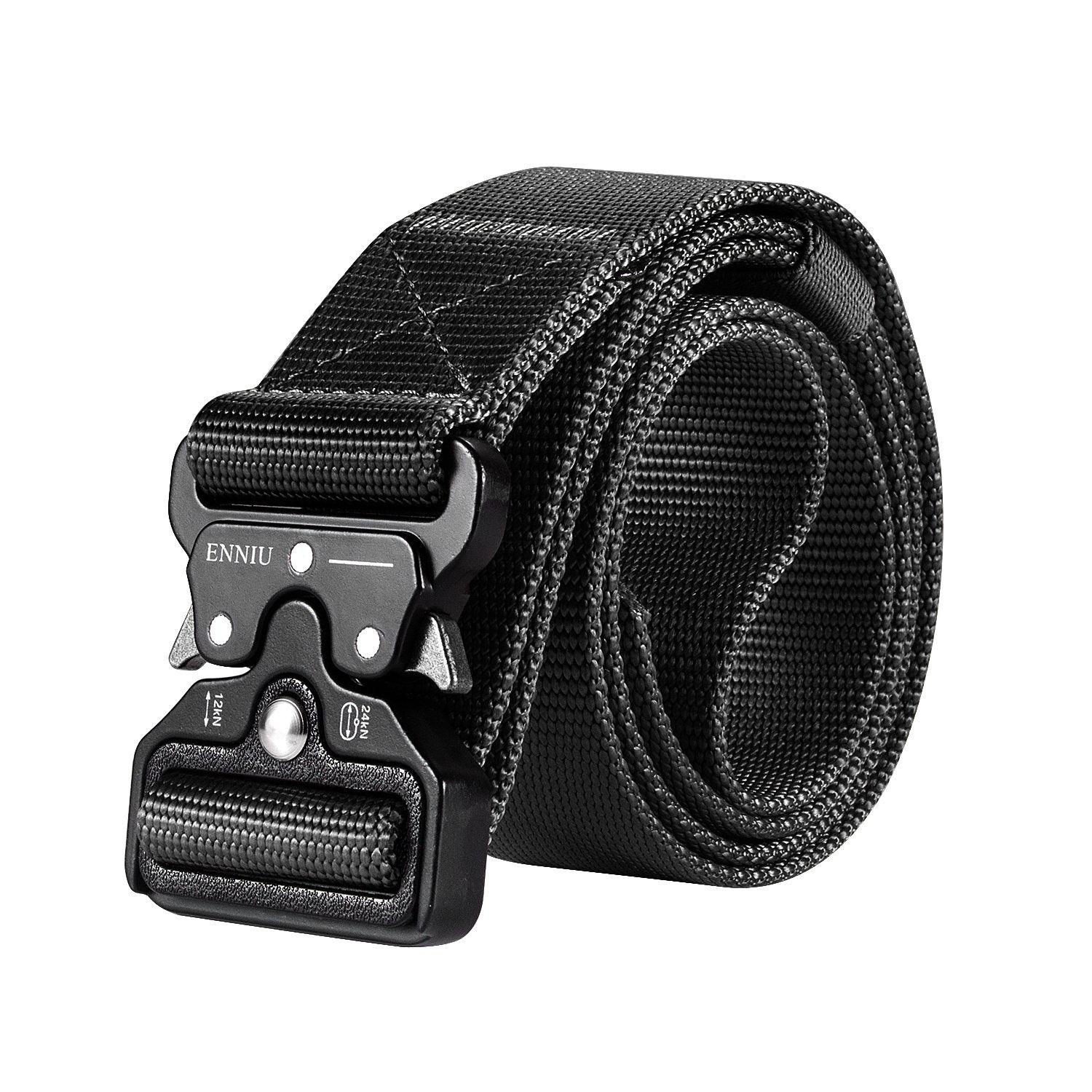 Military Style Adjustable Heavy-Duty 1.5/'/' Riggers Nylon Belt with Quick-Release Metal Buckle for Working Outdoor Molle APERIL Men Tactical Belt