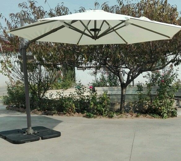 Sombrilla para patio versalles sombra para patio for Alcampo sombrillas terraza