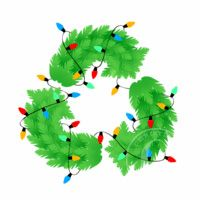 Christmas lights recycling program! Don't just trash your ...