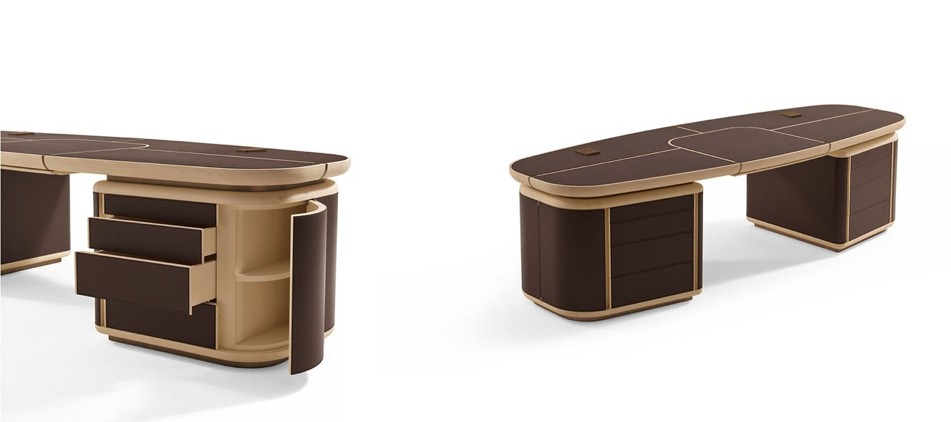 made in Italy Tycoon desk, project by Roberto