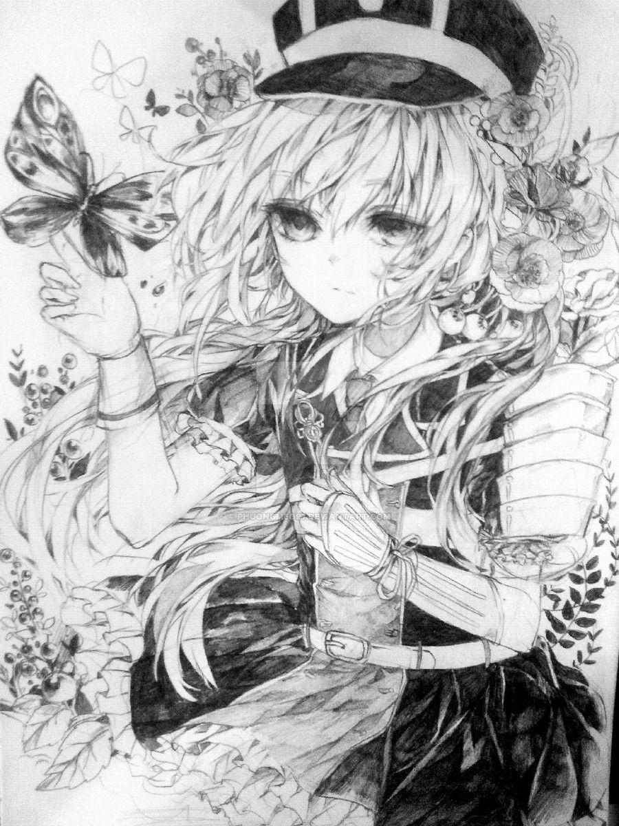 Midare toushirou manga art manga anime fantastic art line art art drawings