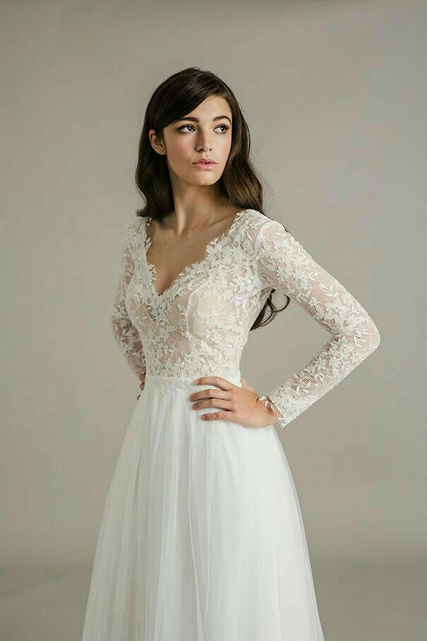 Wedding Gown Long Sleeve Lace