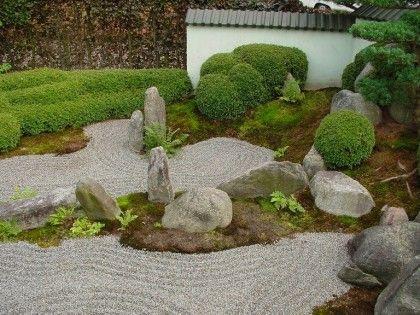 japanischer garten zen garten jardin pinterest garten garten ideen und bonsai. Black Bedroom Furniture Sets. Home Design Ideas
