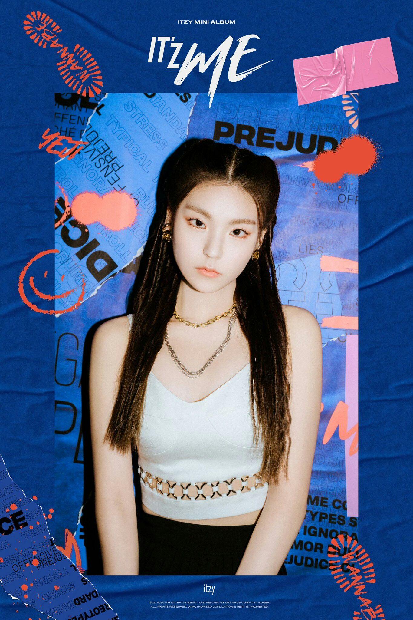 Pin by Jugu on iTZY YeJi / LuCy 예지 in 2020 Mini albums