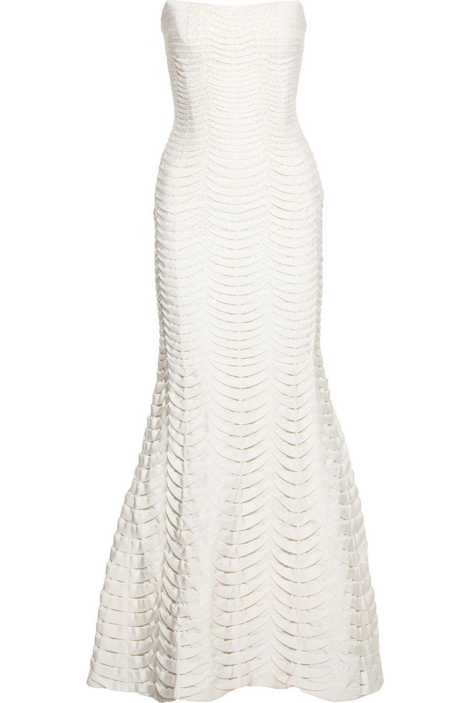 Embellished bandage gown by hervé léger fashion pinterest