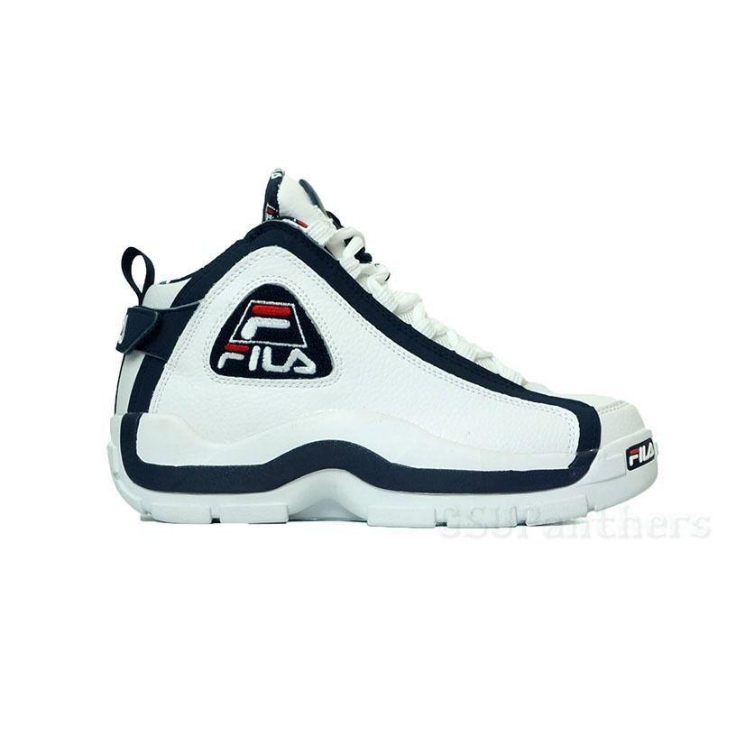 dd71b6ab882b Fila 96 Varsity (White Fila Navy  Fila Red ) Men s Shoes Grant Hill  90064-127  Fila  AthleticSneakers