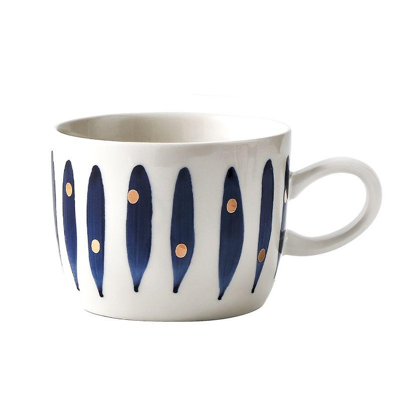 Japanese Styles Retro Tea Cup Luxury Ceramic Coffee Mug In 2020 Tea Cups Mugs Thermos Bottle