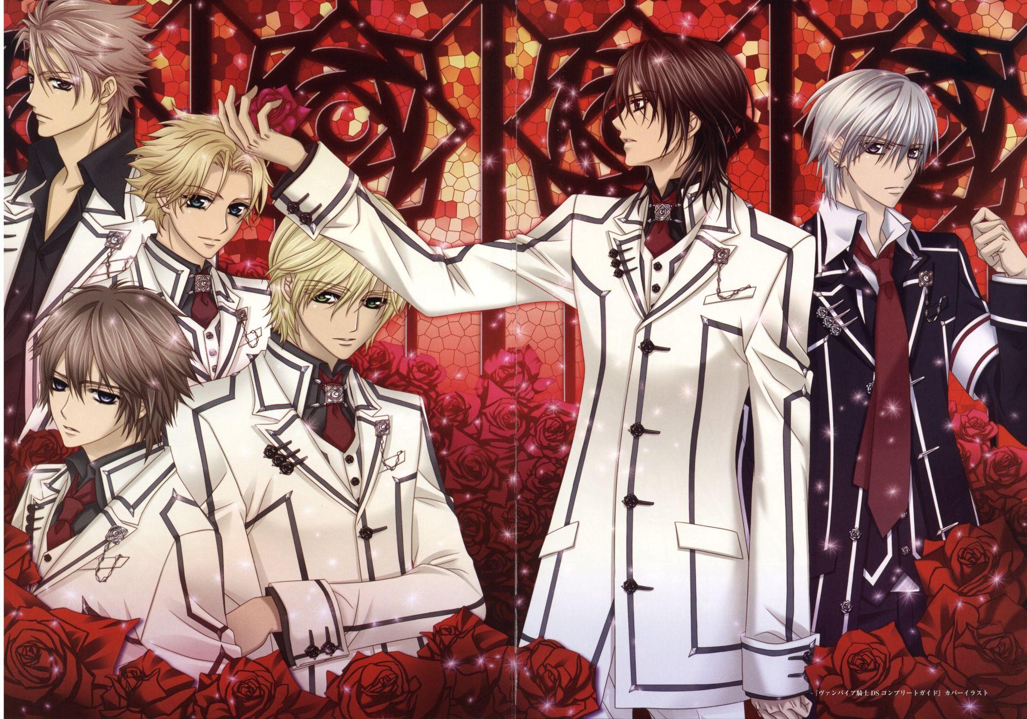 Kain, Aido, Shiki, Ichijo, Kaname and Zero Vampire