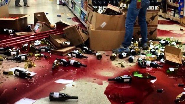 Napa's tragic loss in recent earthquake :-(