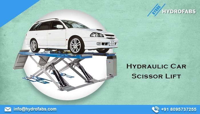 Photo of Hydraulic car lift