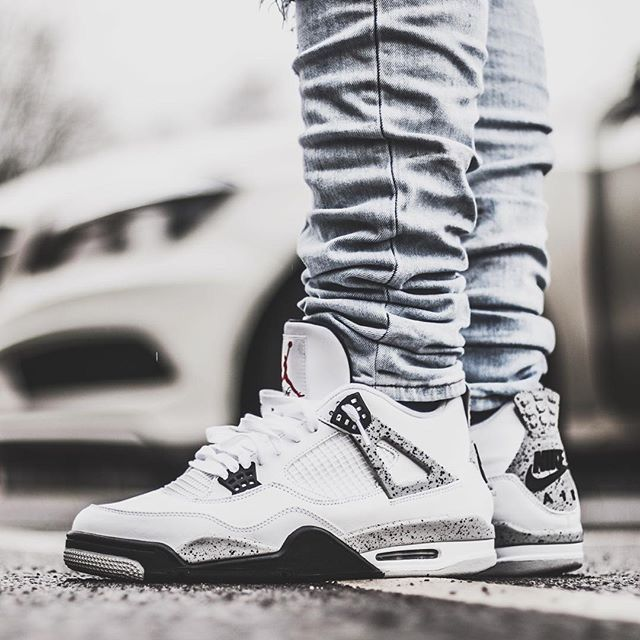jordans shoes for men cement