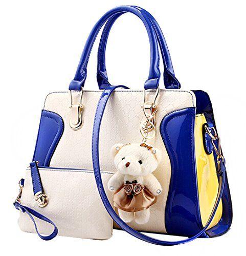 Coofit Bolso De Cuero Patente La Bolsa Mensajero Las Señoras Bag