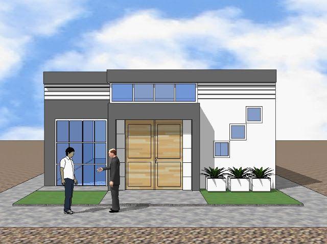 Fachadas y casas excelentes dise os de fachadas para for Disenos de casas de una planta