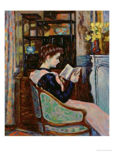 Mlle. Guillaumin Reading, 1907 - Armand Guillaumin