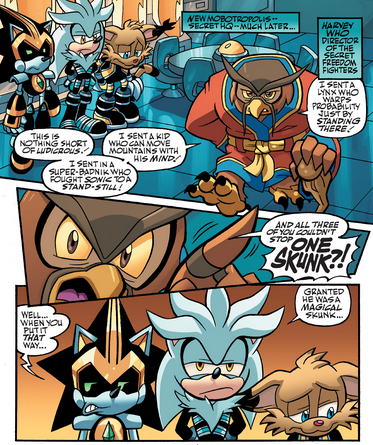 Larry Looks So Upset And Disappointed With Himself Jdkhsdskf Bless Him Silver The Hedgehog Archie Comics Sonic The Hedgehog