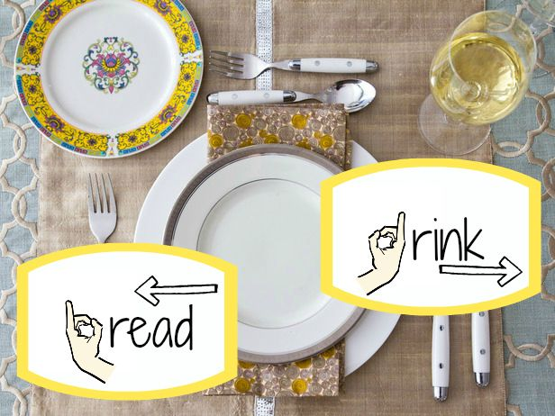 Navigating Your Place Setting Entertaining Table Settings Dining Etiquette Table Etiquette