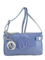63e66bdd3a96 Petit sac bandoulière très pratique de la ligne Vernice Lucida signé Armani  Jeans. Très tendance
