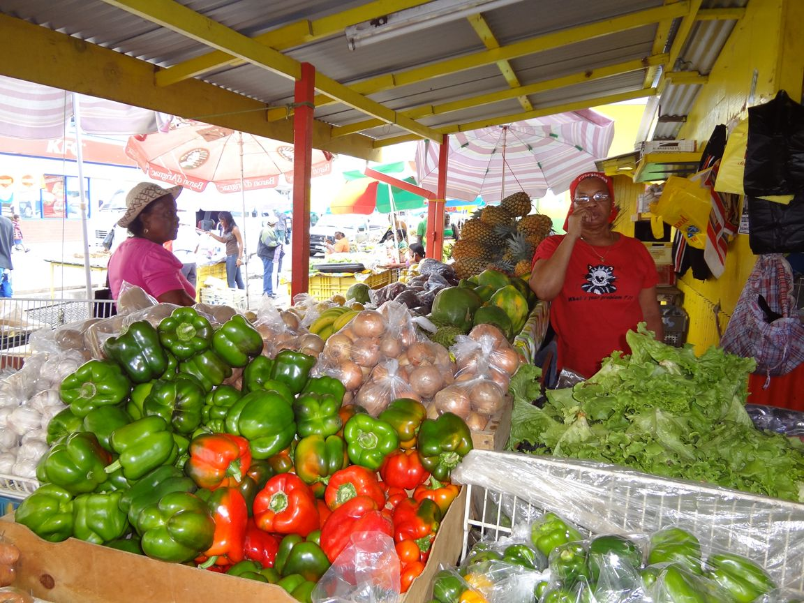 roseau market dominica west indies nature island in 2018