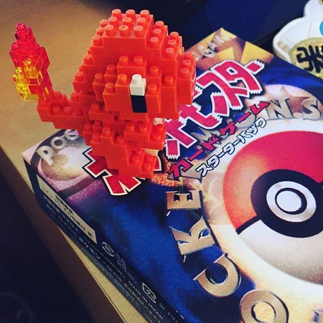 Charmander!!! #nanoblock #charmander #pokemon #souvenir #fromjapan #toy #procrastination #toys #pokemontoys