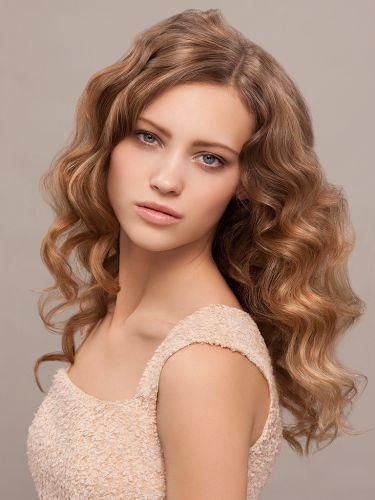 wavy hair | frisur lange haare locken, langhaarfrisuren