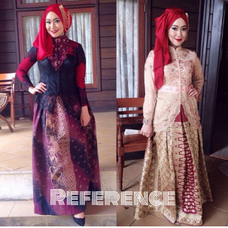 45 Gambar Model Kebaya Muslim Modern Dan Terbaru Batik Kebaya