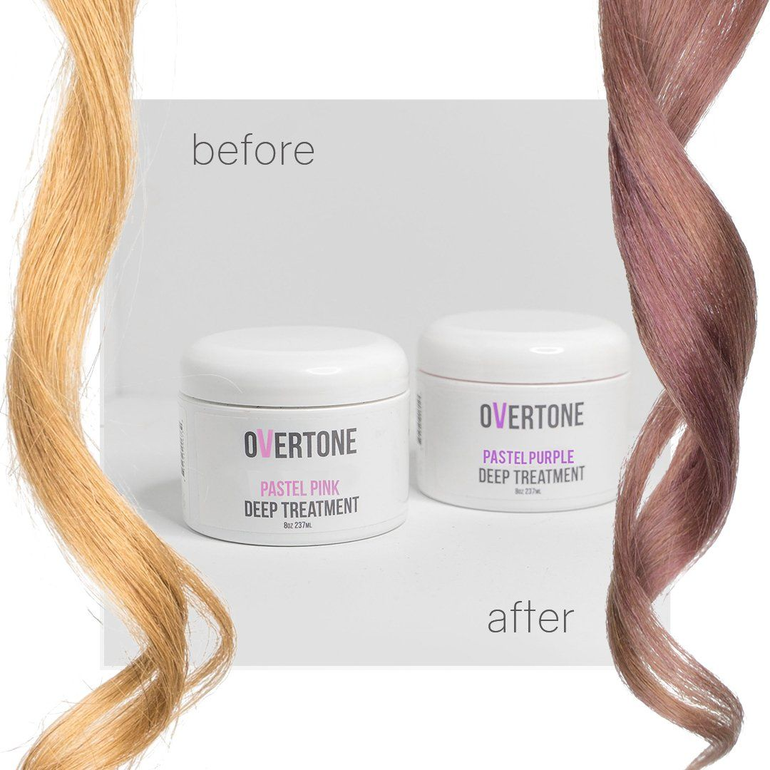 Dusty Orchid Conditioner Kit Overtone Haircare In 2020 Orchid Hair Color Color Conditioner Hair Inspo Color
