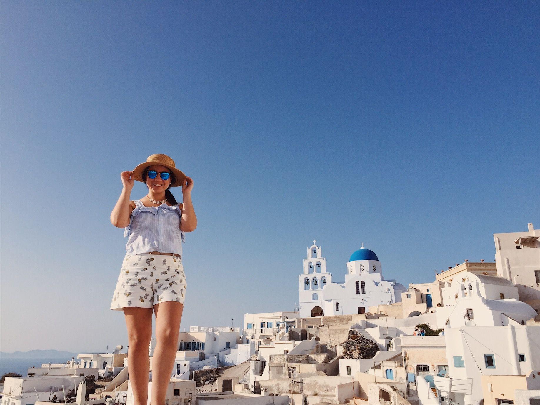 Santorini Instagram: wanderlust2585 | TRAVEL | Pinterest