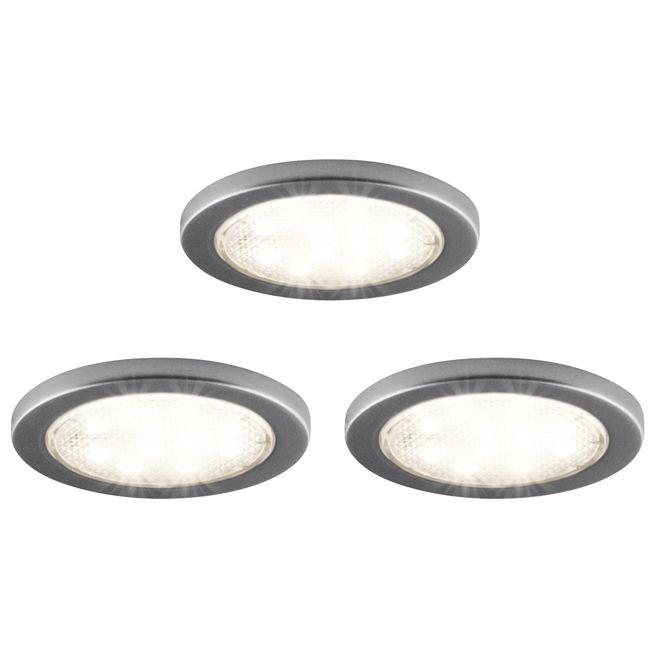 Bazz Under Cabinet Led Puck Lights 2 1 4 3 Pack