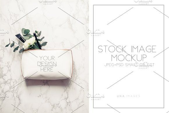 Clutch mockup with eucalyptus PowerPoint Templates PowerPoint - winter powerpoint template