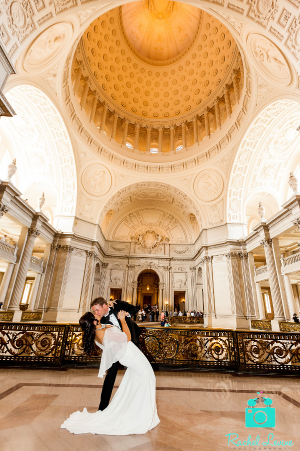 Photos From The Mayors Balcony Wedding At Sf City Hall And