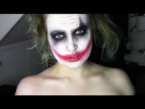 Easy Joker Heath Ledger Makeup Tutorial Queenkingsfx Thejoker - Joker-makeup-tutorial