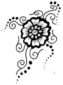 photo relating to Printable Henna Stencils named Picture final result for Printable Henna Stencils Estencil