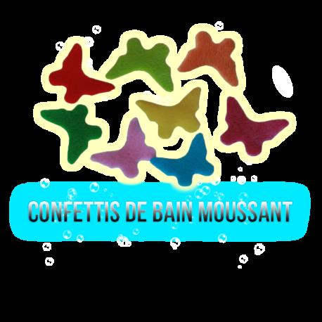 ✭ Confettis de bain moussant papillons - Boite de 12gr ✭