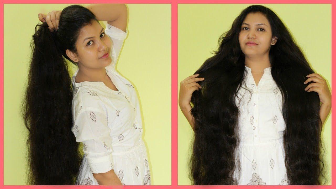 خلطة هندية سحرية لتطويل الشعر في يوم واحد فقط - YouTube