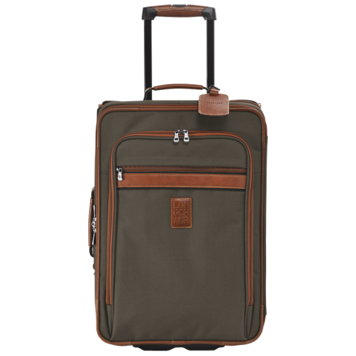 Small Wheeled Suitcase Luggage Brown Ref 1426080