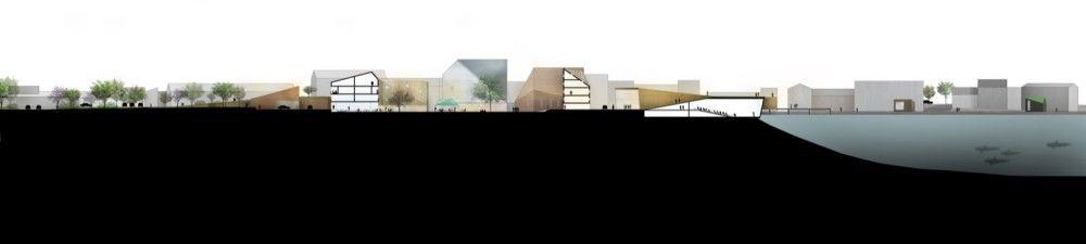 1° Lugar: Centro da Cidade de Klaksvík / Henning Larsen Architects (9) | ArchDaily Brasil