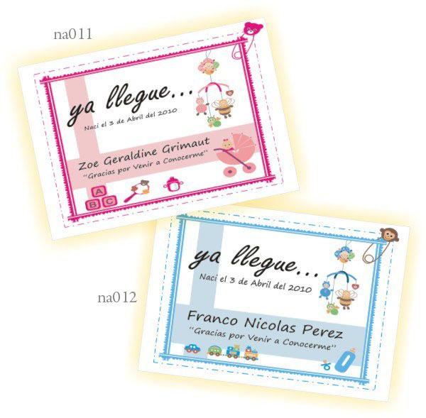 Tarjetitas para imprimir de souvenirs para nacimiento - Imagui ...