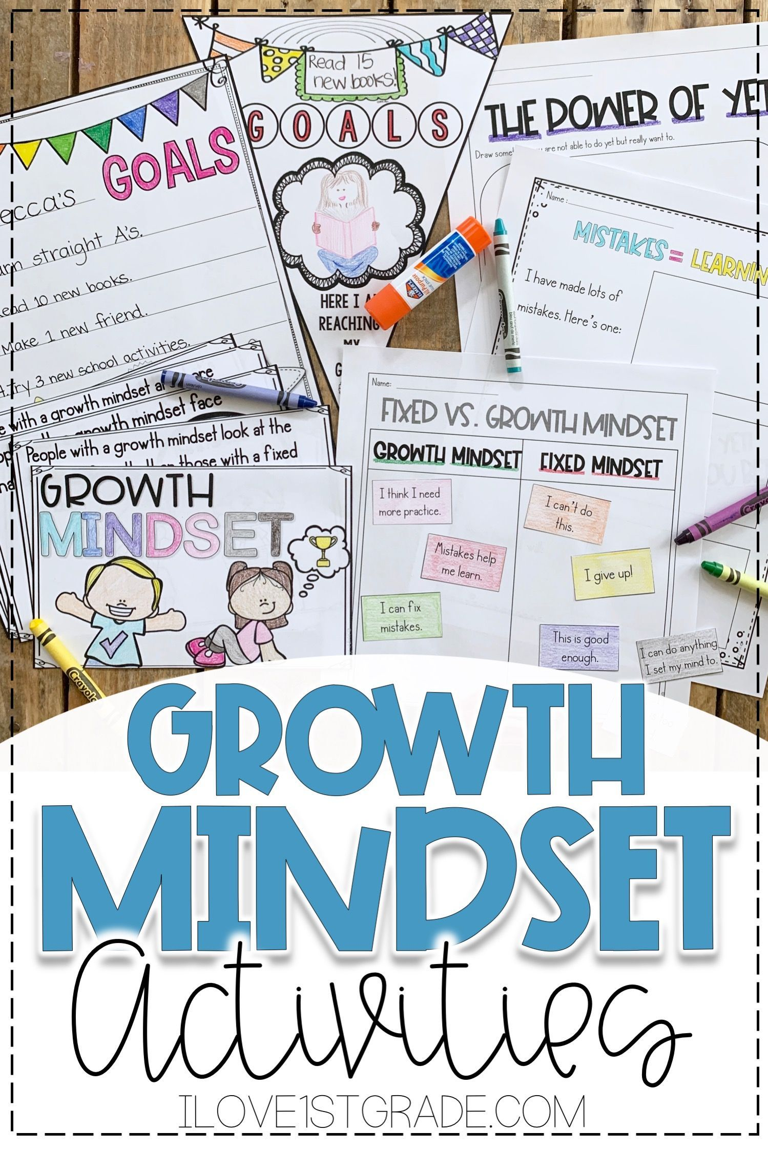 Growth Mindset Back To School Activities