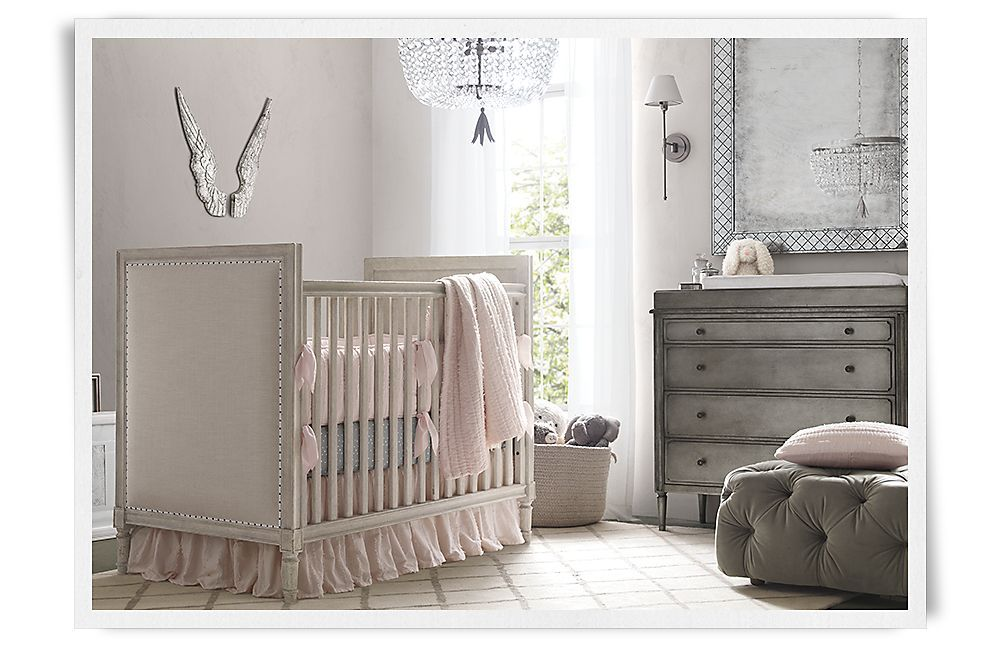 Baby girl rooms restoration hardware baby child love for Restoration hardware kids rugs