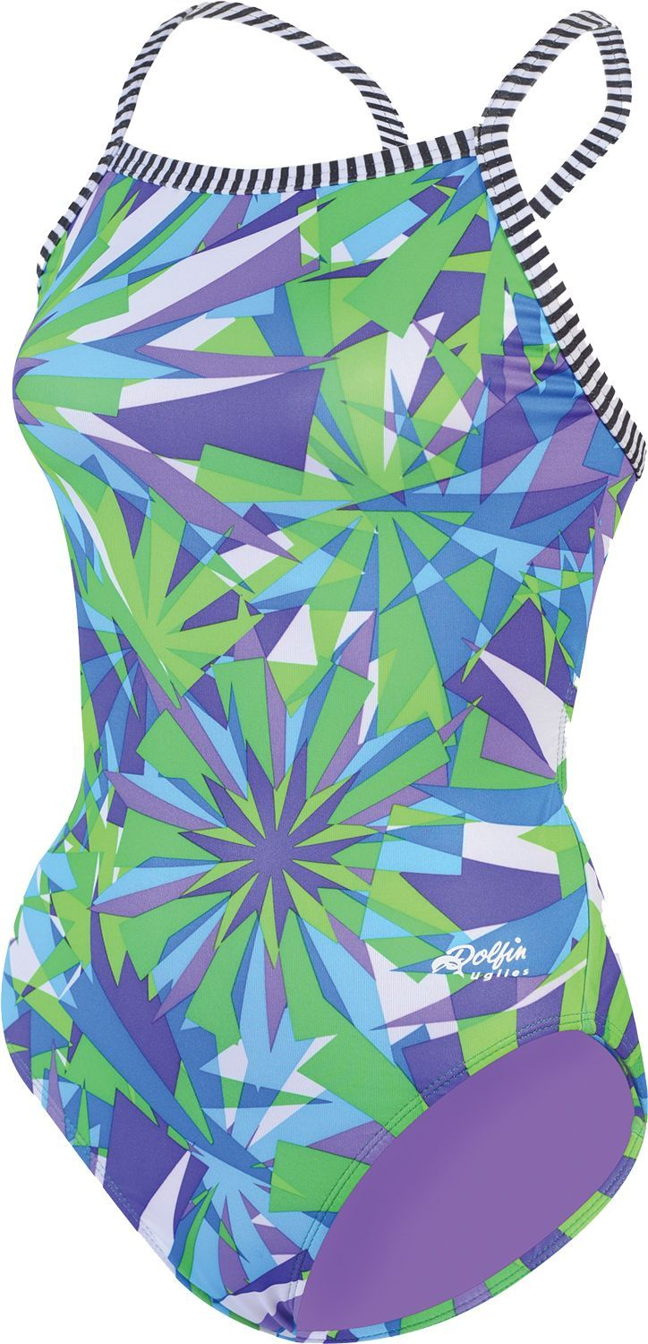 b1a3ef30df0f6 Dolfin Women's Uglies Dazzle V-2 Back Swimsuit | Products ...